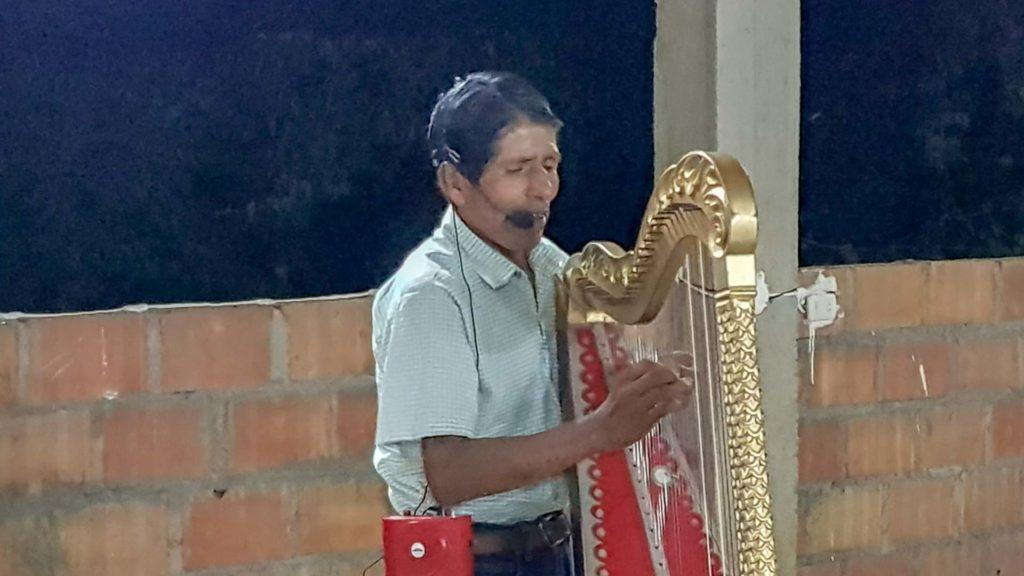 Harfenklänge am Abend