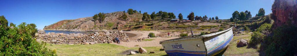zu Besuch auf der Insel Taquile